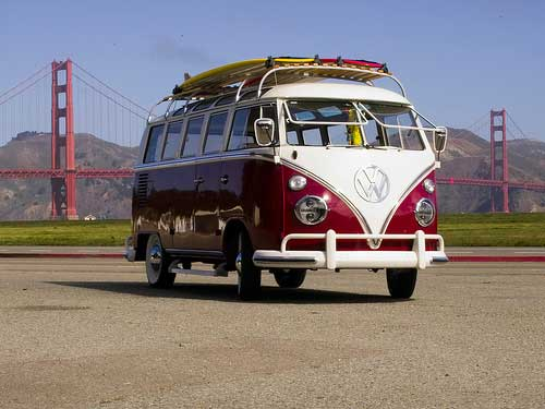 Tricked out VW Micro Bus - The Chameleon 01