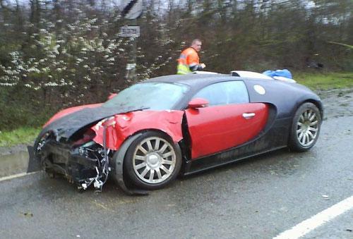 Veyron Crash