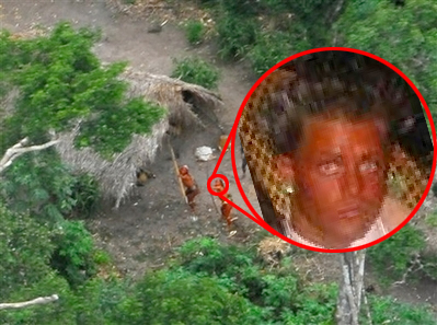 Uncontacted Tribe Fends Off Helicopter with Bow and Arrow ...