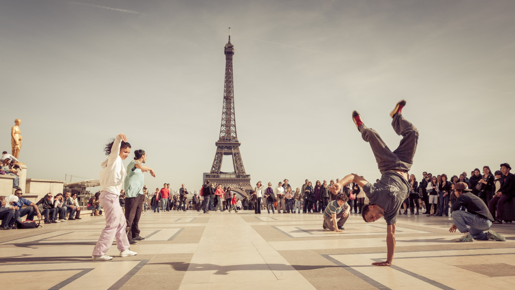 Parisian Breakdancers
