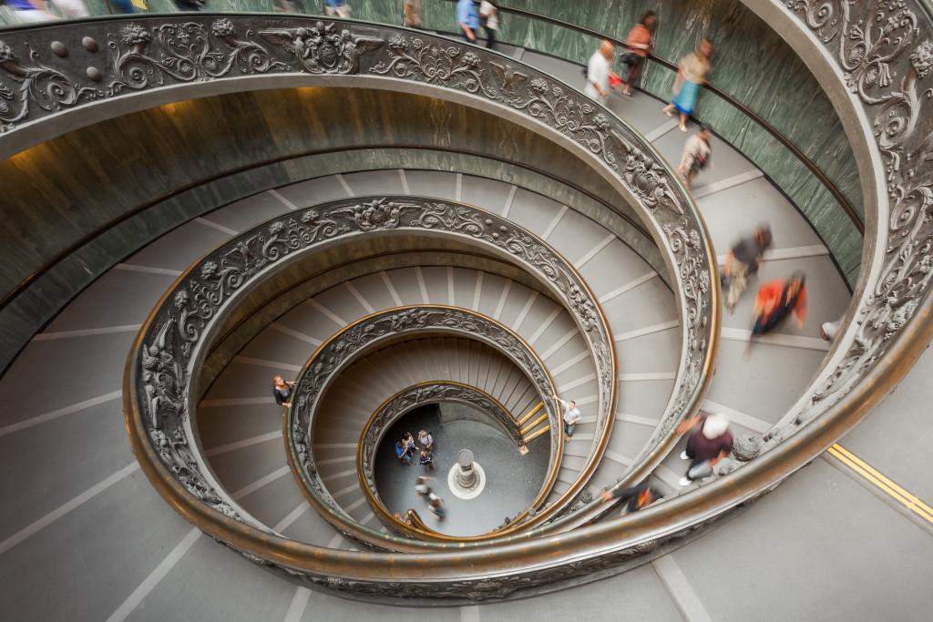 vatican museum spiral staircase. Black Bedroom Furniture Sets. Home Design Ideas