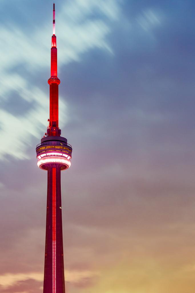 CN Tower At Dawn
