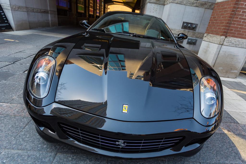 Smiling Ferrari
