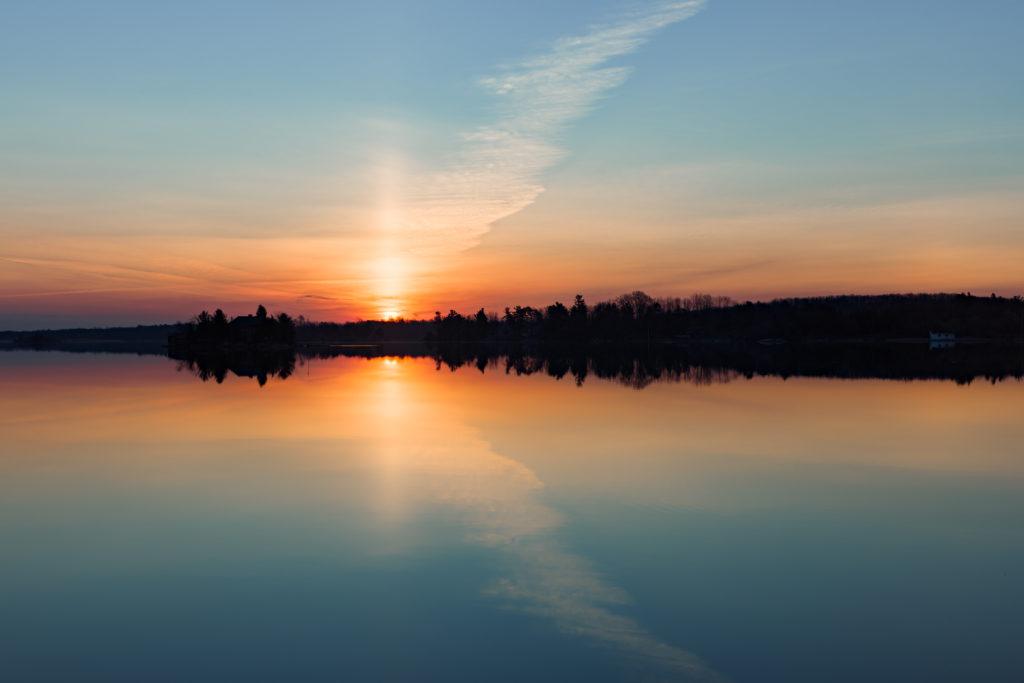 1000 Islands Sunrise