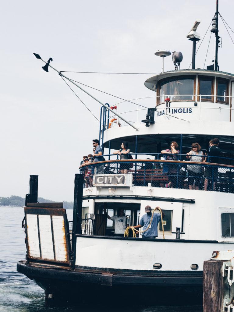 William Inglis Ferry Docking