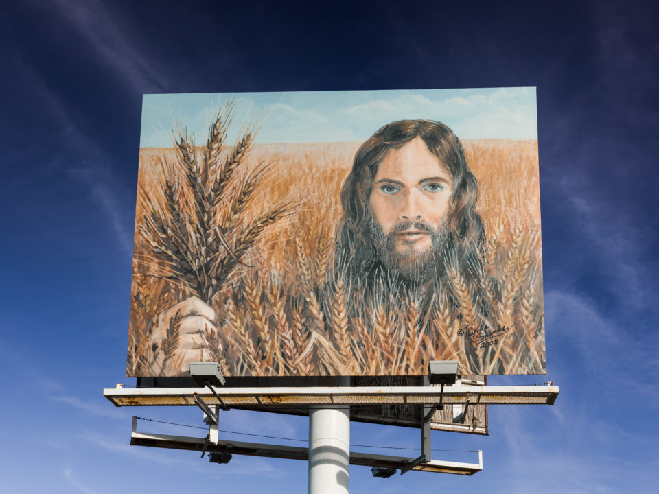 Wheat Jesus Billboard