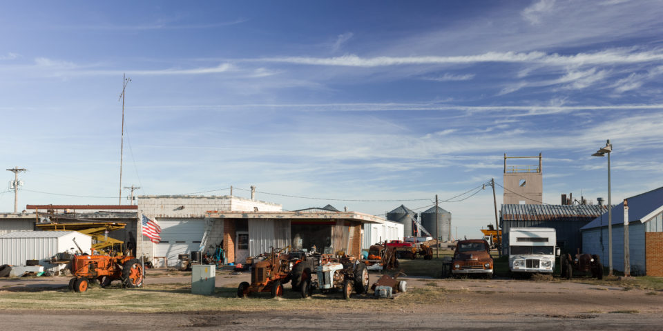 Old Vehicles And Tractors