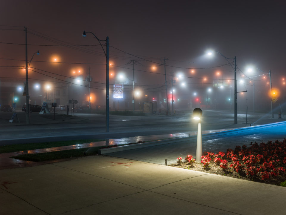 Lights In The Fog