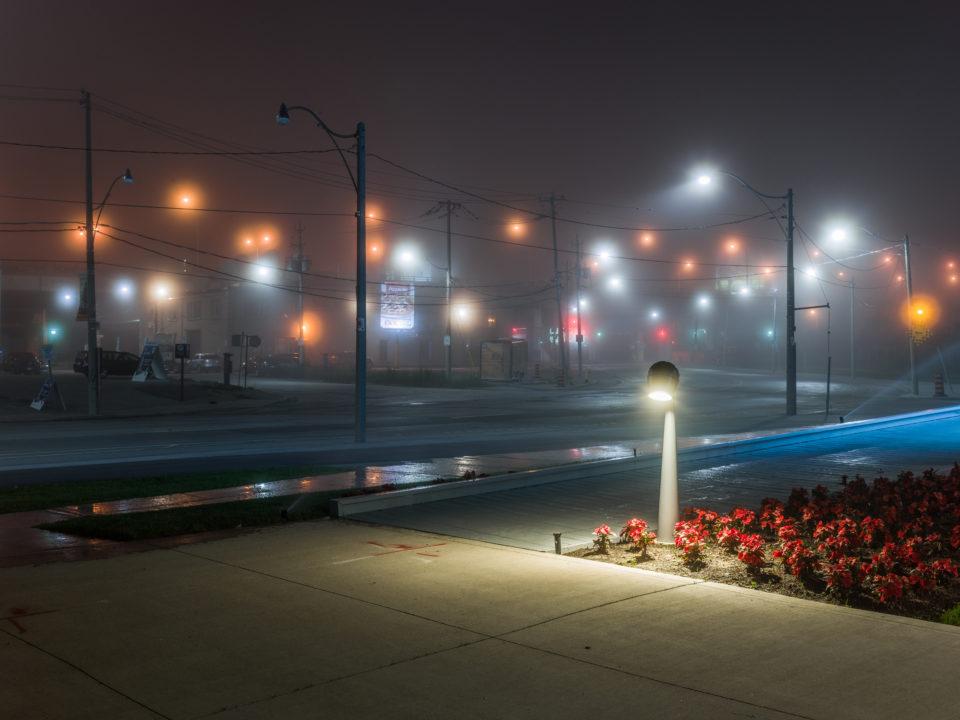 Lights In The Fog
