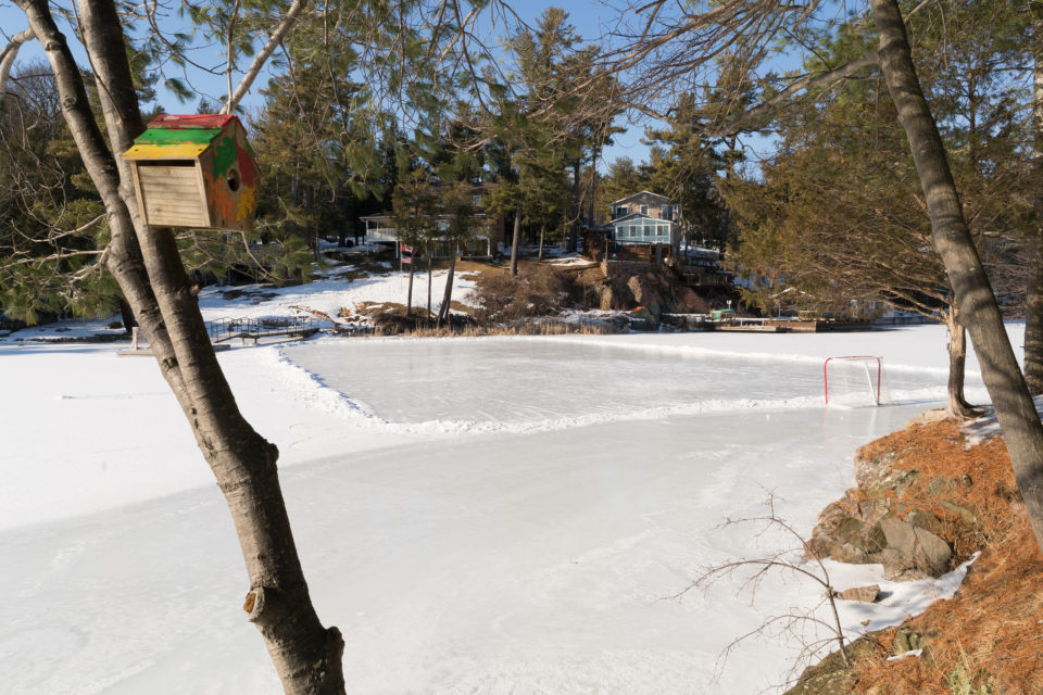 River Hockey Rink
