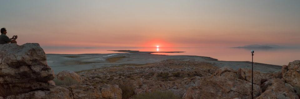 Sunset Over Egg Island 2
