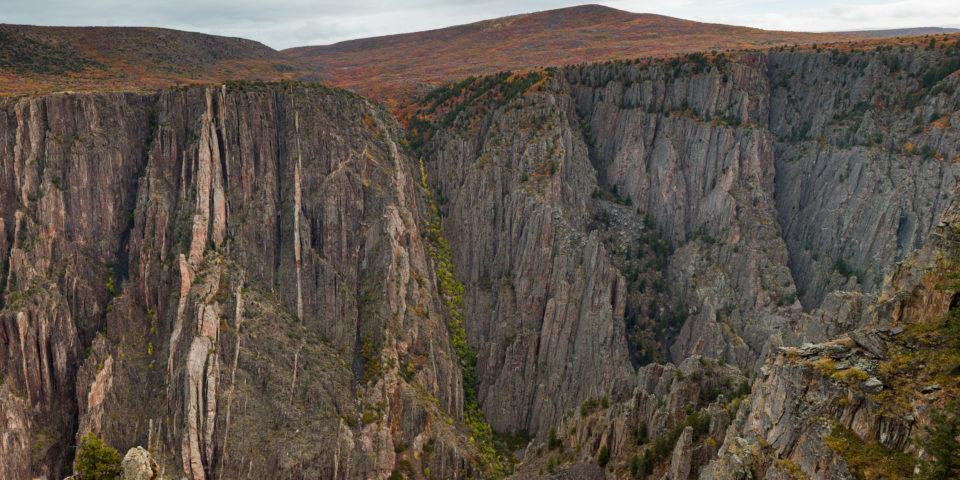 Fall Colour Black Canyon Of The Gunnison