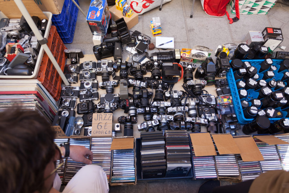 Cameras At Flea Market