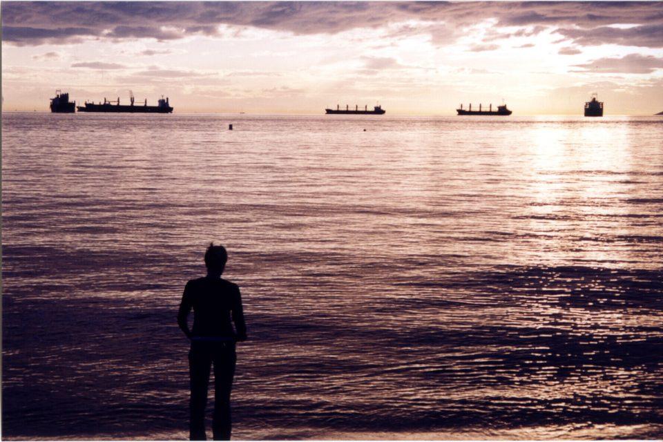 Sunset English Bay