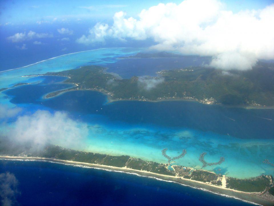 Aerial Photo of Bora Bora
