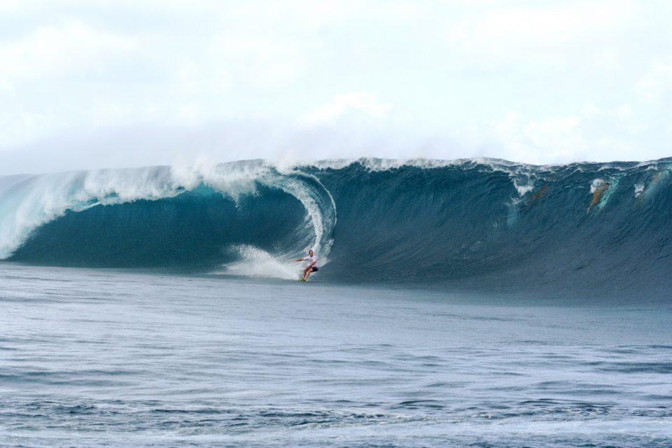 Teahupoo Surfer