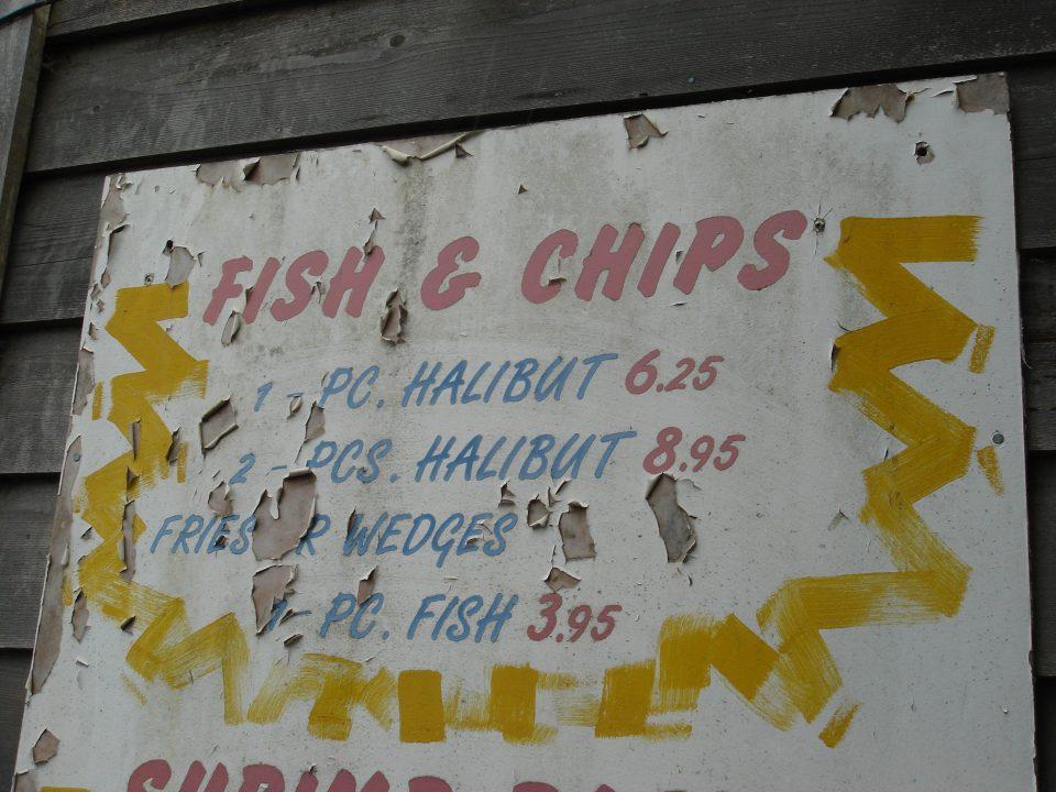 Cool sign at Shakeys