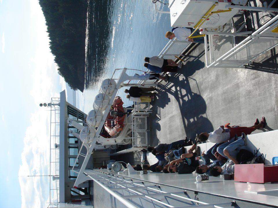ferry riders