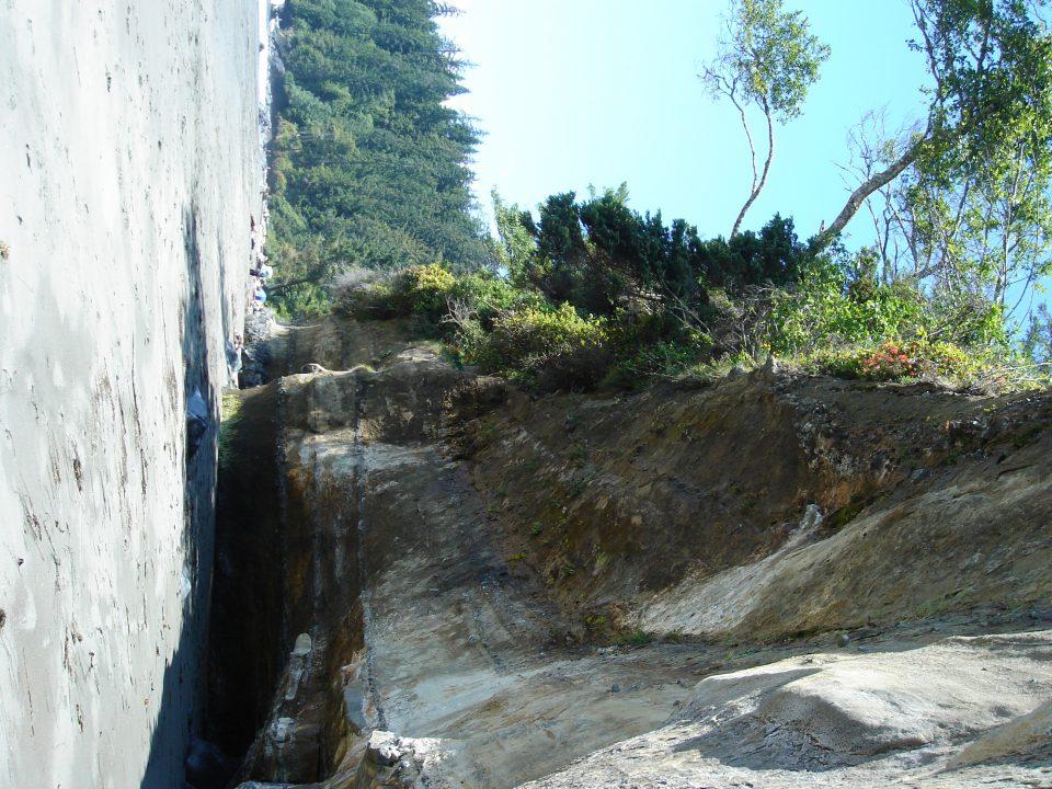 Cliffs at Mystic Beach
