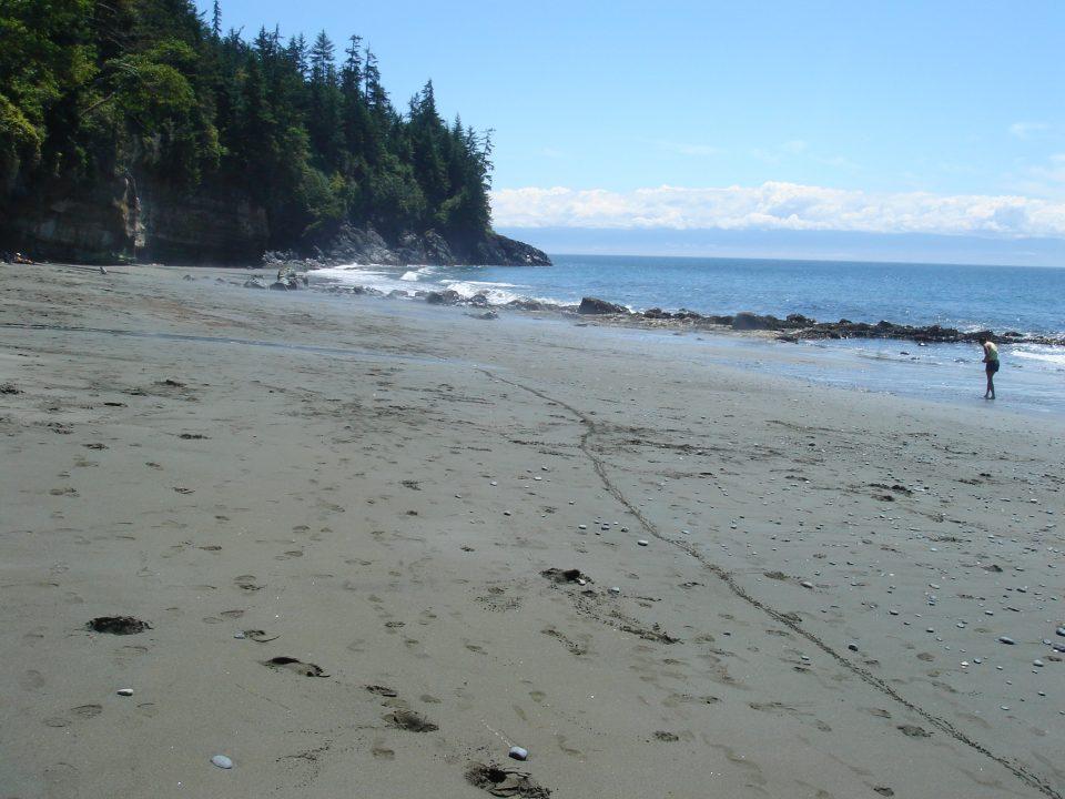 Beautiful mystic beach
