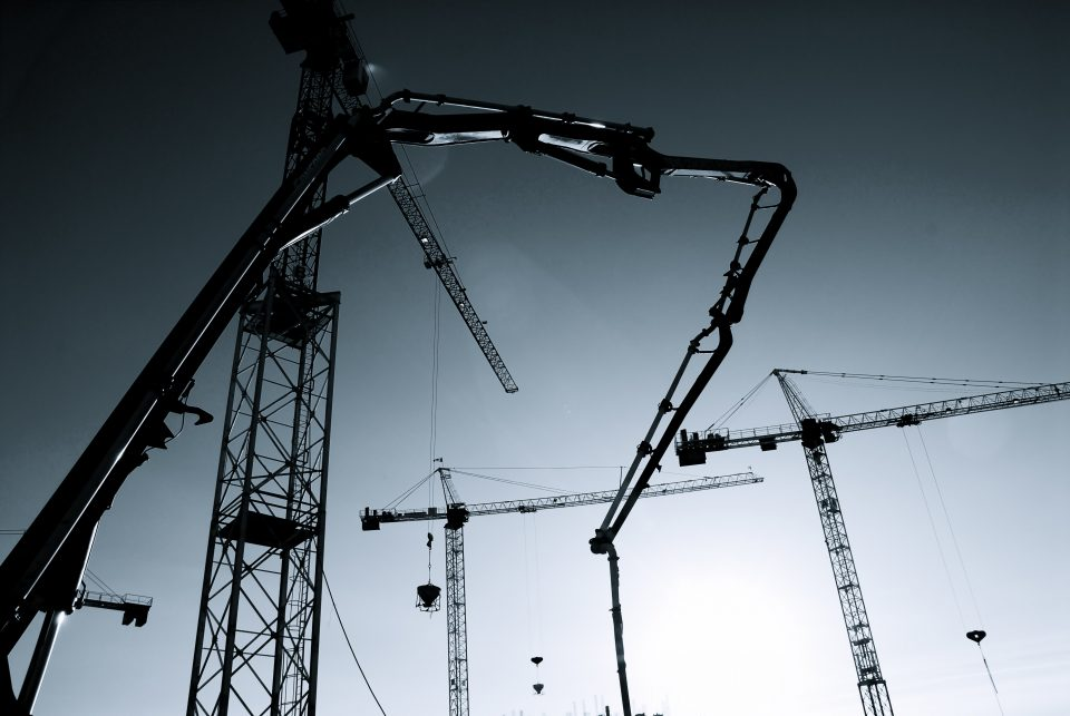 Cranes And The Sky