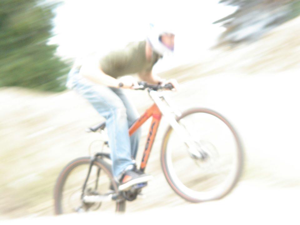 bill rides faster than light!