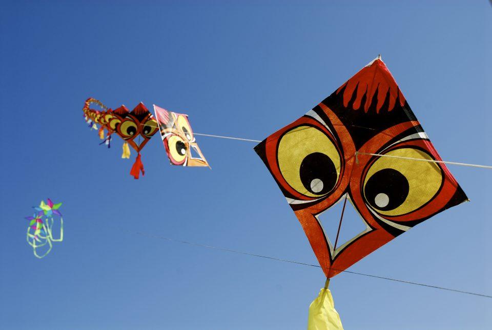 Kite And Blue Sky