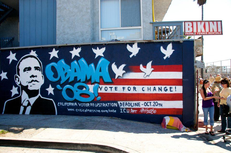 Obama Graffiti