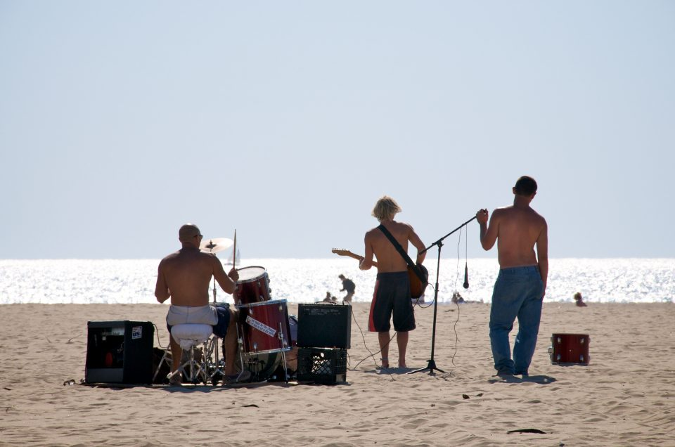 Rockin Out at the Beach
