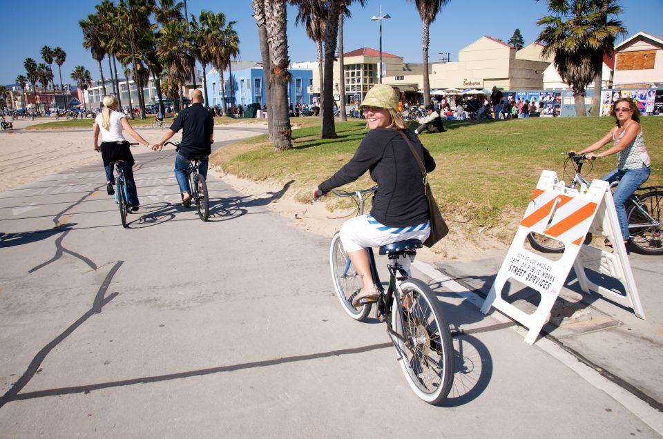 Biking Venice Beach