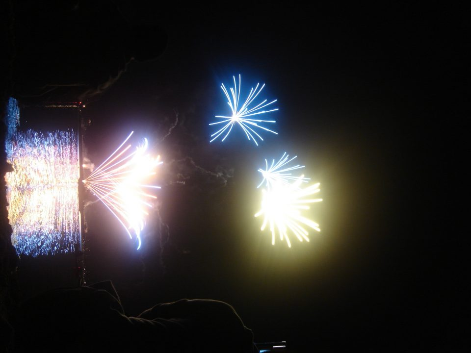 Pastel Fireworks