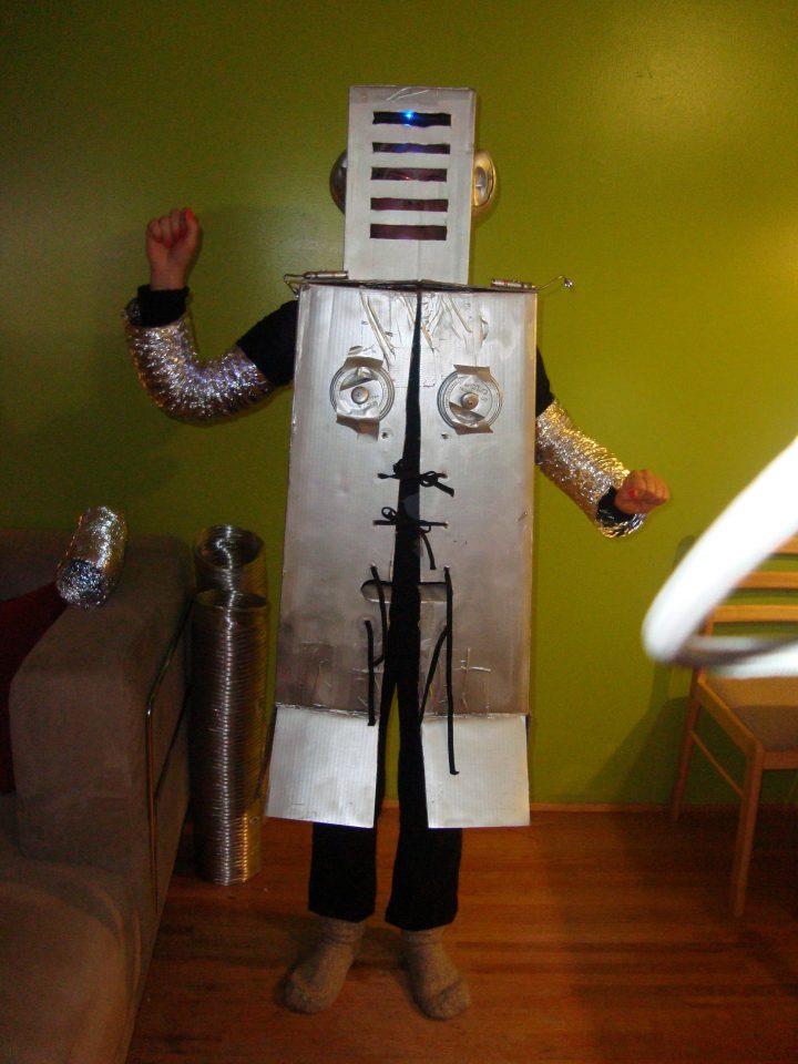 Dor's Robot Costume