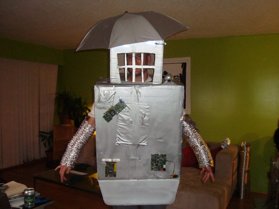 my robot costume