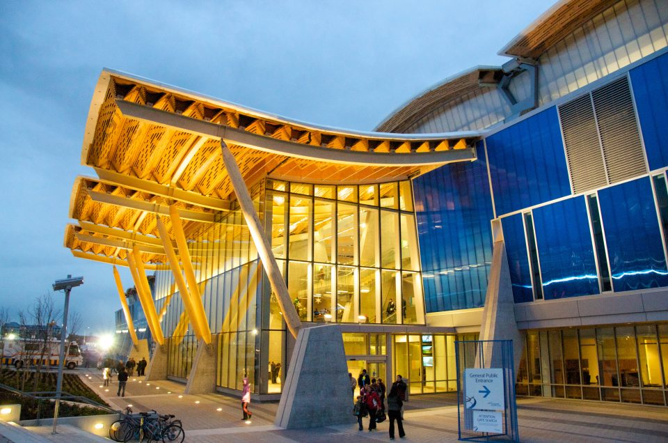 Olympic Oval Entrance