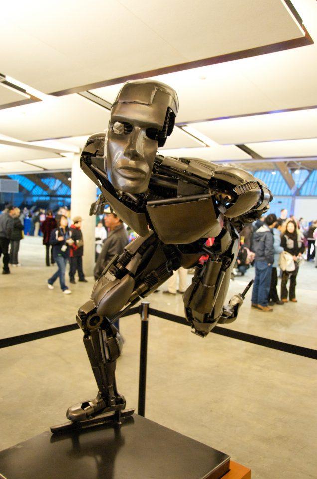 Skater Bot Sculpture