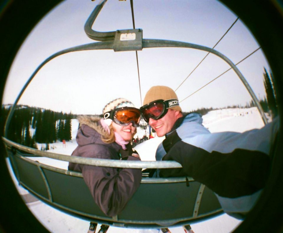 On the chair at big white
