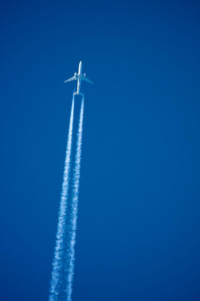 Jet Contrail