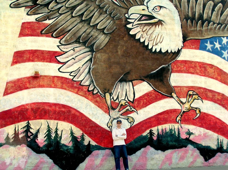 me and an amazing mural