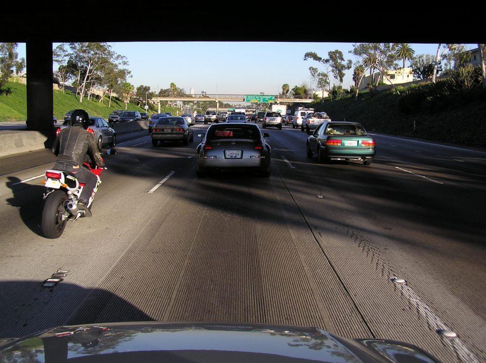 Los Angeles Highway Traffic