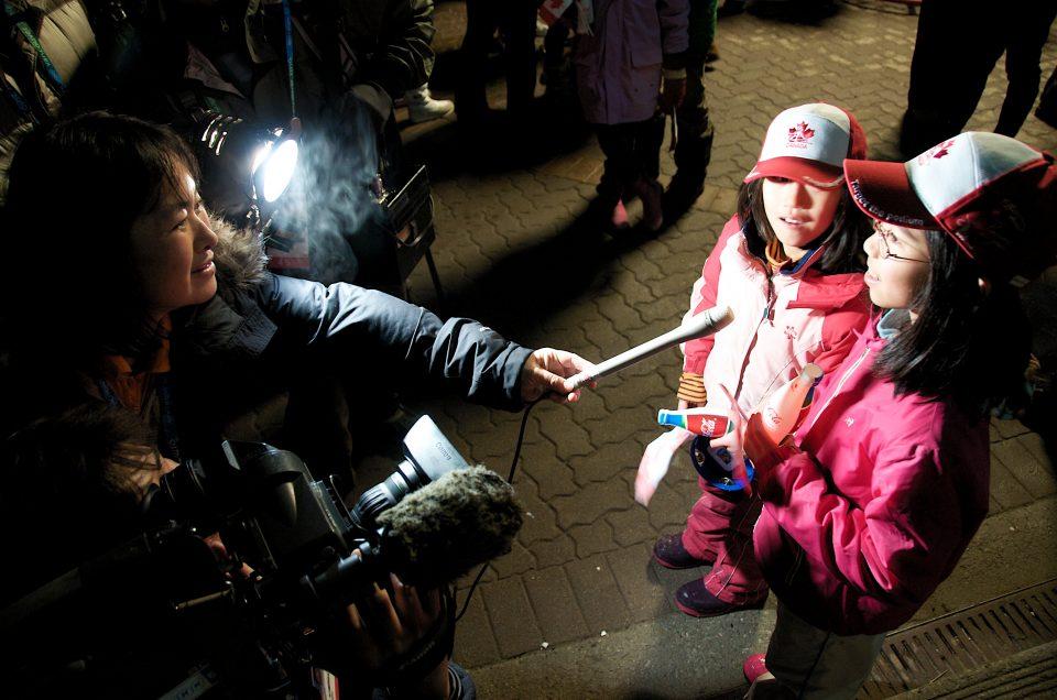 Kids Being Interviewed