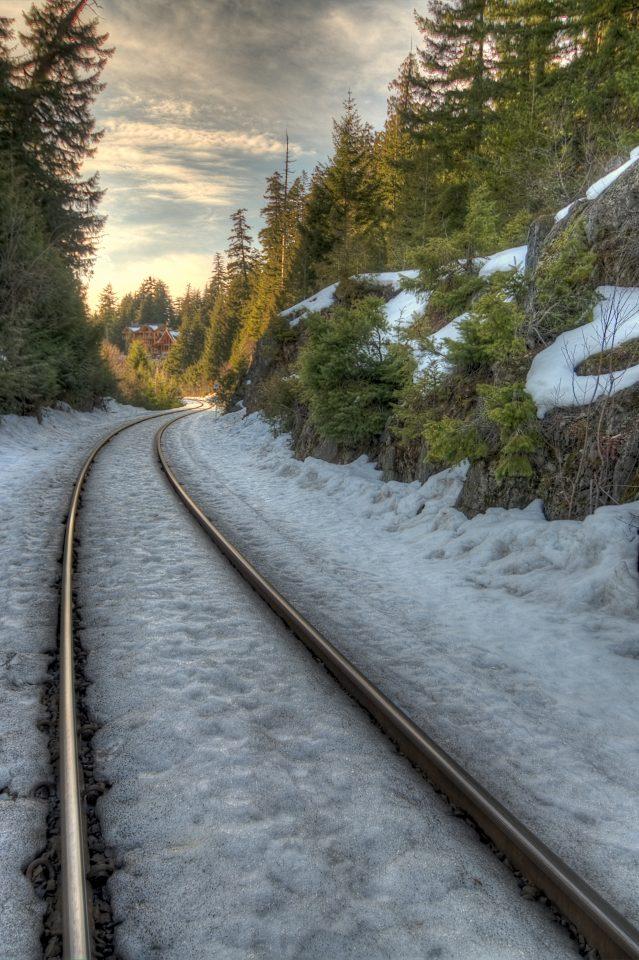 Train Tracks Whistler Canada
