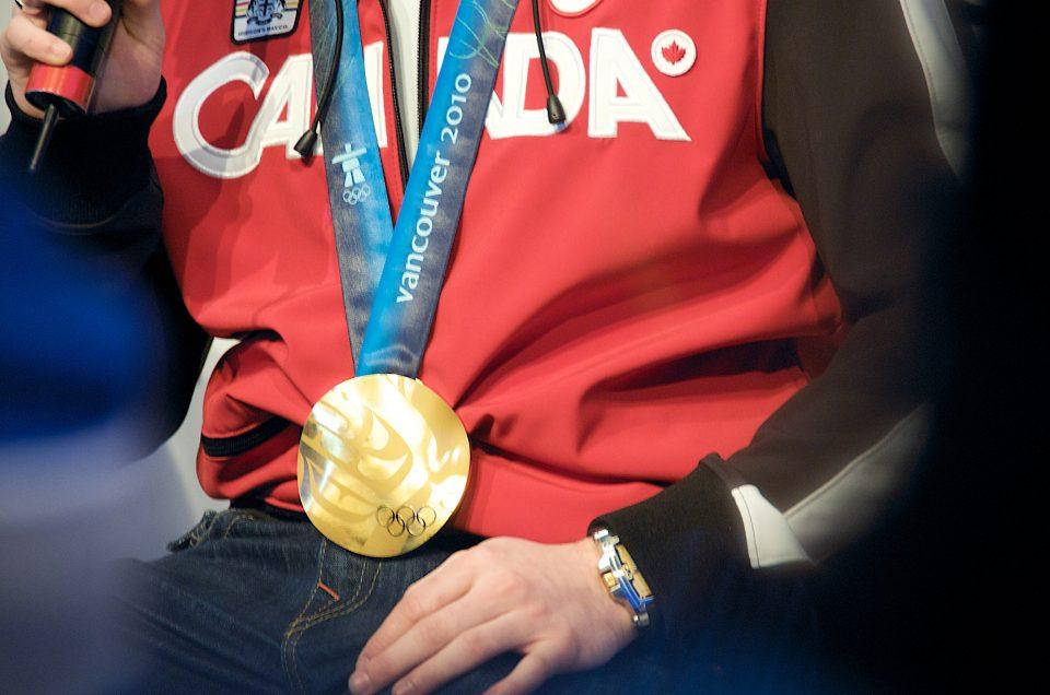 Alexandre Bilodeau's Gold Medal
