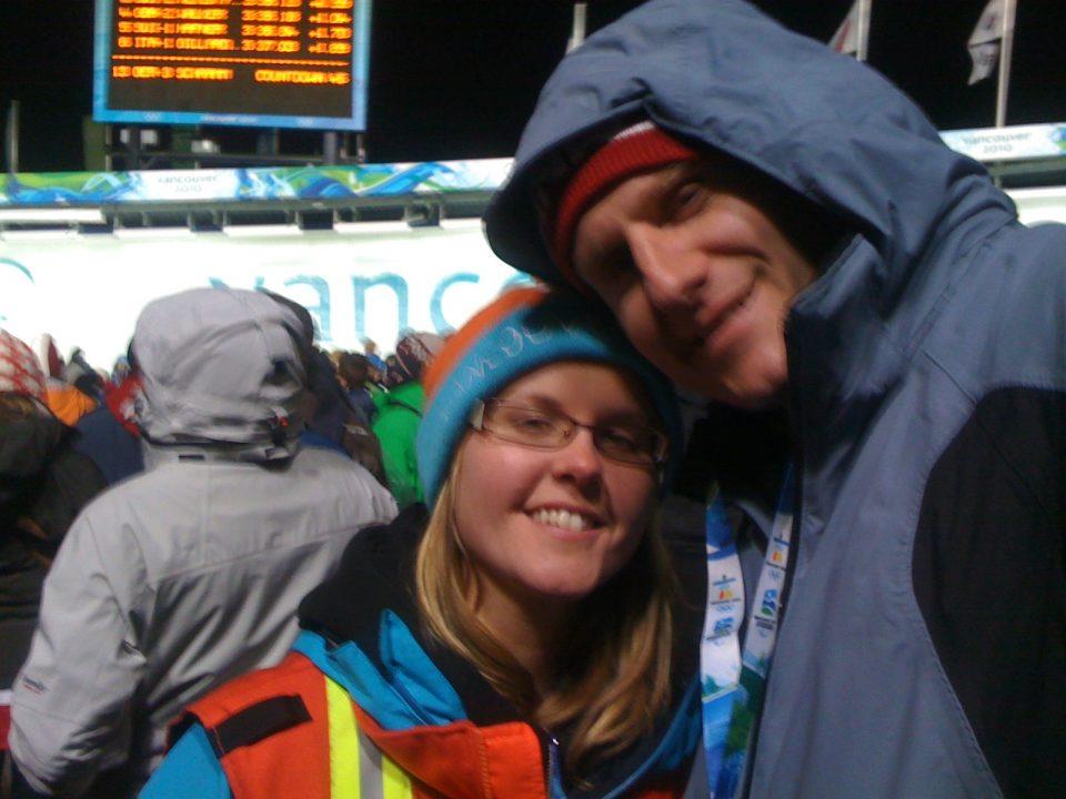 Just saw Canada win gold and silver in bobsleigh!!! #van2010