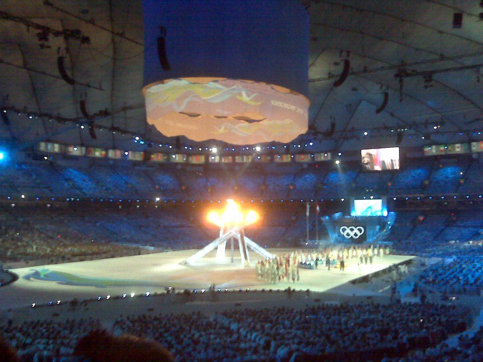 Closing Ceremonies in full swing #van2010