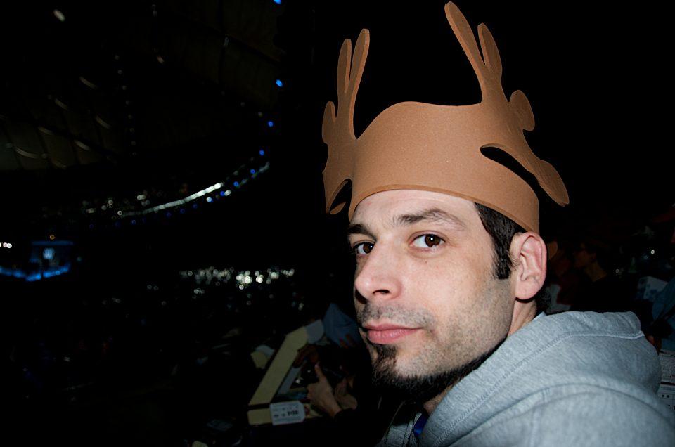 Rick Has Antlers on His Head