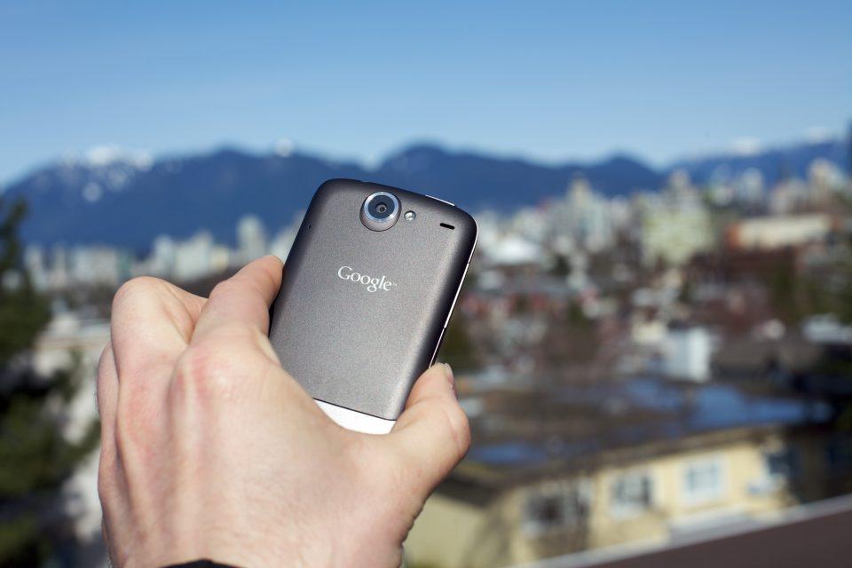 Google Nexus One Back