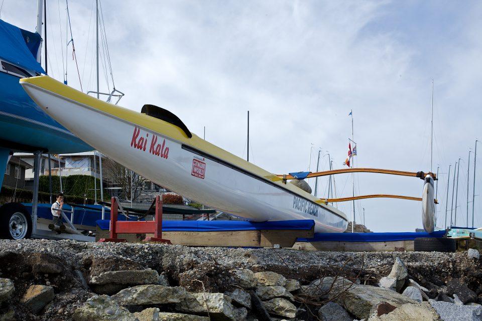 Kai Kala Outrigger Canoe