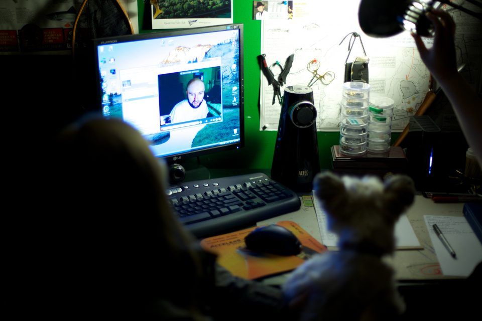 Dorothy and Pepper Skype Video Chat with Arthur