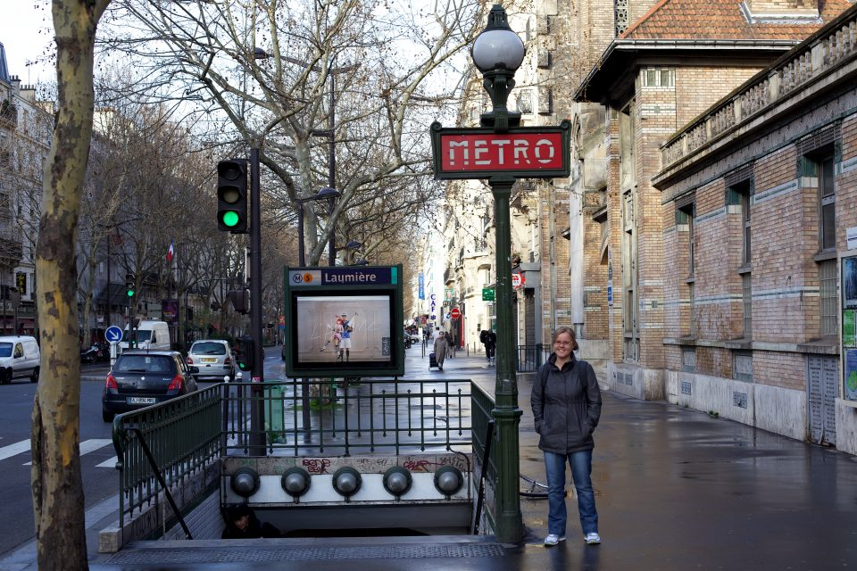 Laumiere Metro Paris