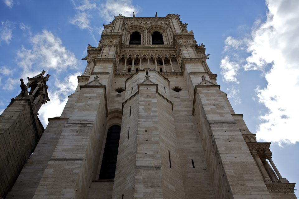 Side of Cathédrale Notre Dame